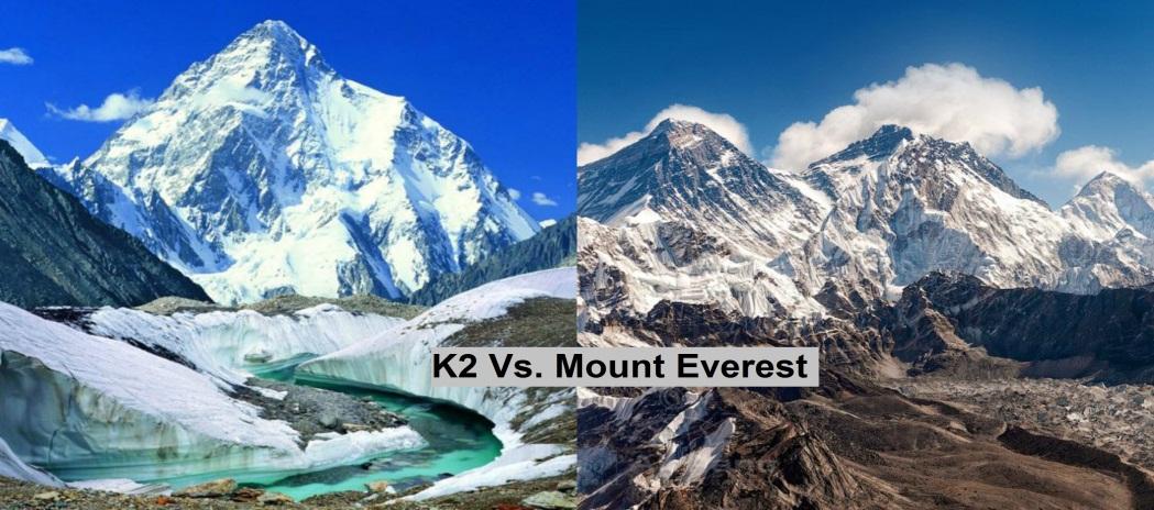 K2 Vs Everest Clash Of The Titans Pak Peaks